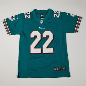 Youth Miami Dolphins NFL Bush #22 Jersey